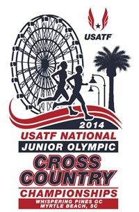 USATF National Junior Olympic Cross Country logo