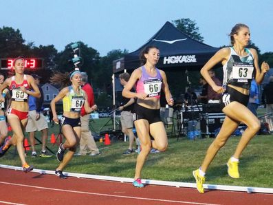 Women's 5000 at the Martinez Classic (Photo: Chris Lotsbom for Race Results Weekly)